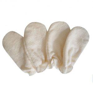 Gants démaquillants lavables Bambou